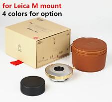 7artisans M35mm 35mm F5.6 Wide Angle Pancake Lens For Leica M M-P240 M7 Camera