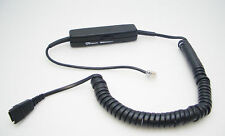 GN NETCOM 0686 In-Line Amplifier Cable for Jabra QD Headset to most Telephones