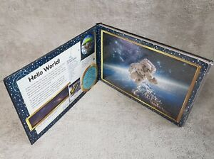 Space JIGSAW BOOK - 4X 96 Pcs Jigsaw Puzzles of solar system images.