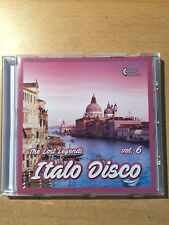 CD Italo Disco -The Lost Legends vol.6 (Lim. Edition: only 100 copies worldwide)