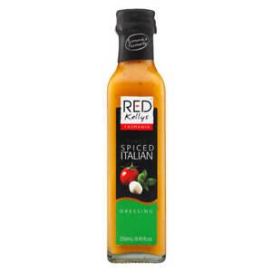 Red Kellys Tasmania Italian Style Dressing 250ml