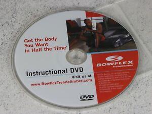 Bowflex TreadClimber Machine - Instructional DVD