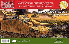Plastic Soldier 1/72 StuG III Ausf. G alemán pistola de asalto * 3 vehículos WW2V20008