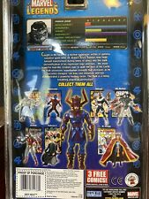 Marvel Legends BAF Galactus Series - 1st APPEARANCE GREY HULK (ToyBiz, 2005) NIB