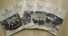 Rolls Royce Enthusiasts Club Bulletins 1973 complete in 6 bimonthly issues