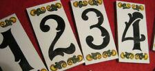 Hausnummer Hausname von 0 bis 9   von A Z Keramik Esperanza Größe 10 cm  x 5 cm