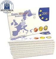 10 Kursmünzensätze Deutschland 3,88 Euro 2003 PP KMS 1 Cent bis 2 Euro Mzz. A
