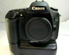 Canon EOS 30D 8MP Digital SLR Camera (Body Only) with BG-E2 battery grip
