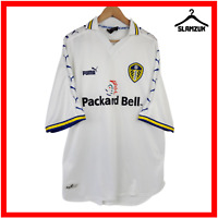 Leeds United Football Shirt Puma XL Home Soccer Jersey LUFC 1998 1999 2000