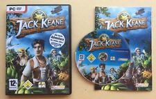 Jeu PC JACK KEANE version Allemande