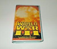 World War 3 VHS Pal Star Video Original Case