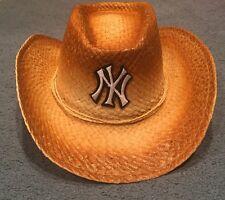 New York Yankees SGA Straw Western Cowboy Hat By Pepsi Brand New