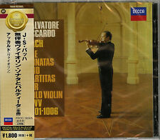 ACCARDO (VN)-J.S. BACH: THE SONATAS AND PARTITAS FOR VIOLIN SOLO-JAPAN CD D73