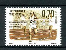 Luxembourg 2017 MNH Josy Barthel Helsinki 1952 Olympics 1v Set Athletics Stamps