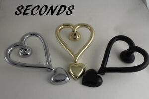 Heart Shaped Door Knocker SECONDS
