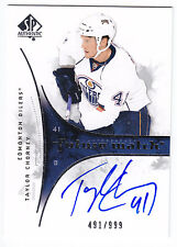 Taylor Chorney , 2009-10 , SP Authentic , #239 , AUTOGRAPH , ROOKIE , 491/999