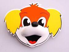 De Plastik 4-er Pack Kinderhaken Hund