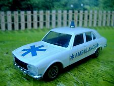 1:43 Solido Peugeot 504 Ambulance #1306