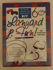 The Creative Activity Kit Lanyard Fun New Easy Step by Step Instructions