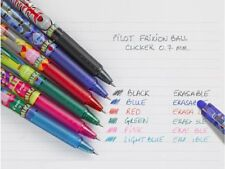 PILOT FRIXION CLICKER 07 2018 MIKA LIMITED EDITION ROLLERBALL PEN – PACK OF 6pcs