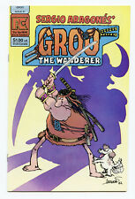 GROO The WANDERER Vol.1 #1 - 9.8 to 9.9! - PACIFIC COMICS!!  1982
