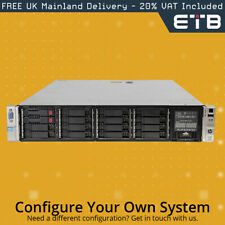"""HP Proliant DL380p G8 2x8 2.5"""" Hard Drives - Build Your Own Server"""