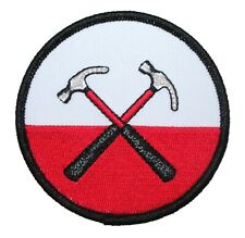 Pink Floyd The Wall Cross Hammers Patch Logo Rock Band Apparel Iron On Applique