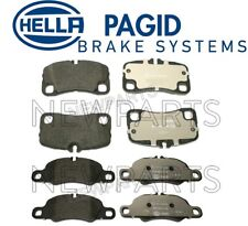 For Porsche 911 2009-2012 Front & Rear Disc Brake Pad Set Hella Pagid