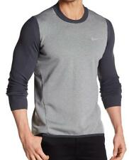 New with Tag - $190 NIKE Golf Tech Sphere Knit Carbon Heather Sweater Size L