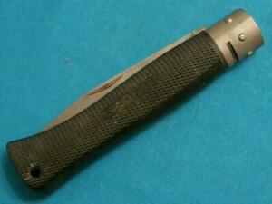 VINTAGE COLD STEEL TWISTMASTER USA CARBON V LOCKBACK FOLDING KNIFE KNIVES POCKET