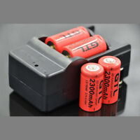 3.7v Rechargeable CR123A 2300mAh 16340 Battery For Torch laser Camera Flashlight