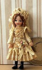 "DOLLHOUSE MINIATURE Porcelain Dollhouse Doll Ethel Hicks ""Eleanora"" NEW !"