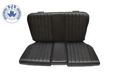 Rückbank Notsitze Kindersitze für Mercedes SL R/W107, schwarz TOP Qualität