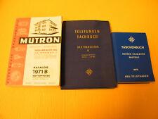 Telefunken Taschenbuch 1975, Laborbuch Transistor II, Mütronkatalog 1971