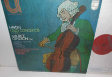 6580 040 Haydn Cello Concertos Maurice Gendron con  Pablo Casals&Raymond Leppard