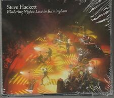 Wuthering Nights: Live in Birmingham Steve Hackett 2 Cd's + Blu-Ray New Sealed