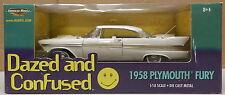 PLYMOUTH 1958 58 FURY DAZED AND CONFUSED MOPAR FORWARD LOOK WING CAR 1/18 ERTL