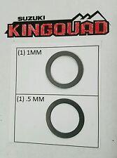 Suzuki King Quad 1.5mm shim mod clutch mod coop45 400,450, 500,700,750 kingquad