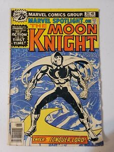 Marvel Spotlight #28 June 1976 1st Solo Moon Knight Story Marvel Comics *Read*