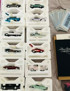 1950's Classic Car COLLECTION- Franklin Mint