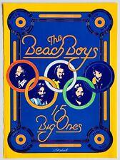 THE BEACH BOYS 1976 vintage POSTER ADVERT 15 BIG ONES Kittyhawk Graphics