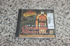 The Ultimate Christmas Album Vol. 2 Various Artists CD NEW SEALED