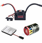 Hobbywing QUICRUN 3650 Sensored 17.5T 2-3S Motor with 60A ESC for 1/10 Rc Car