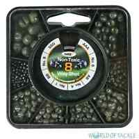 Fishing Split Shot Lead Free 8 Way Soft Weights SSG AAA BB AB No1 No4 No6 No8