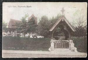 Lych Gate Hayward's Heath West Sussex  England 1921