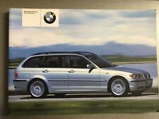 BMW E46 3er TOURING  2004  Betriebsanleitung Bedienungsanleitung Handbuch Kombi