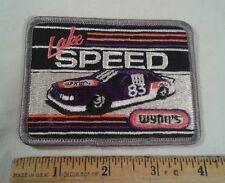 Vintage Lake Speed Patch Wynn's Kmart #83 Nascar Racing