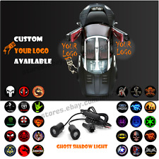 2x LED Car Door Welcome Customize Your Logo Laser Projector Ghost Shadow Light