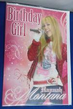 Disney Hannah Montana Birthday Card