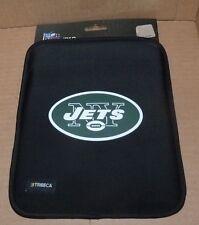NEW NFL NY New York Jets Black Neoprene Sleeve IPAD Protection NEW NWT